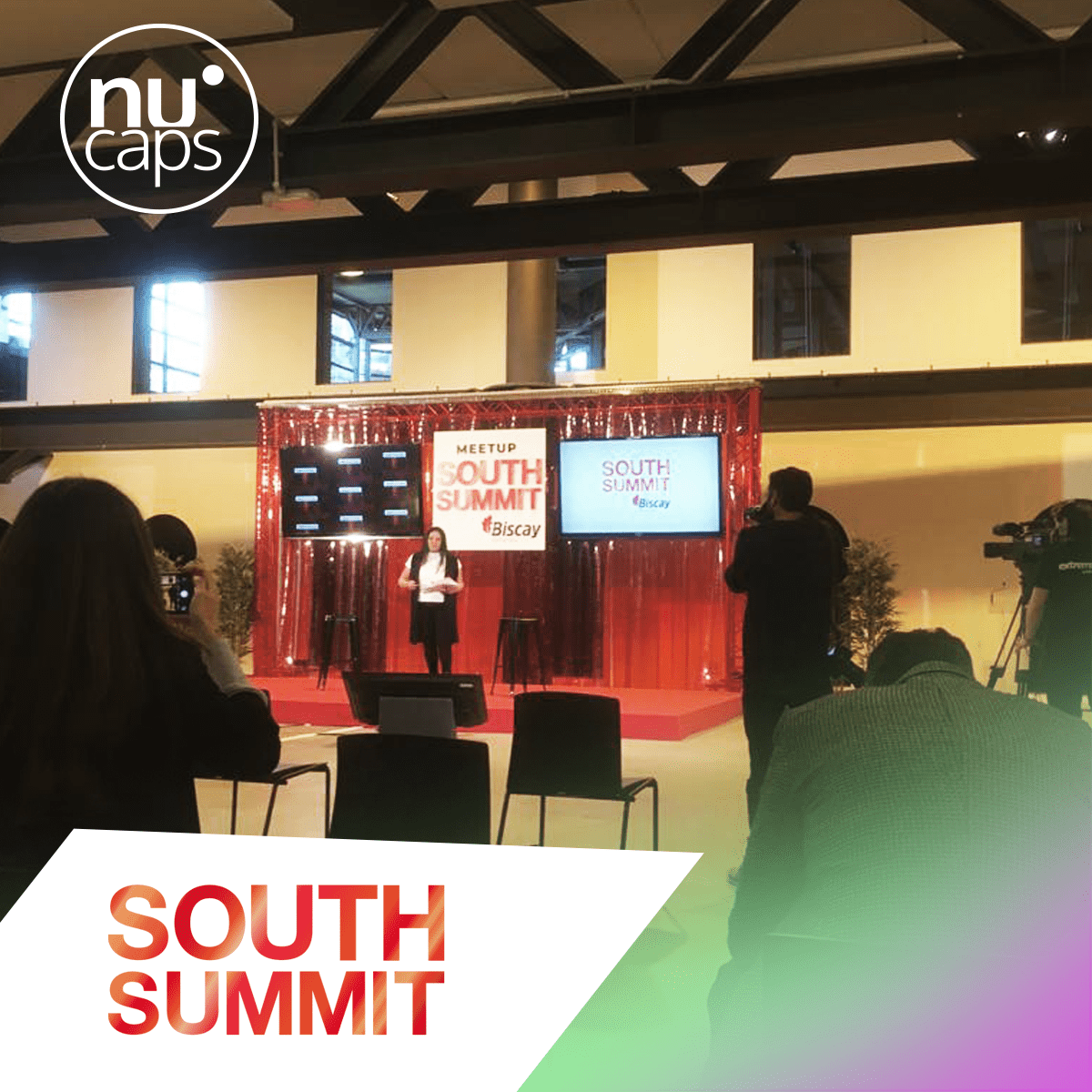 Image of Biscay SouthSummit, another opportunity to publicize the Nucaps project.